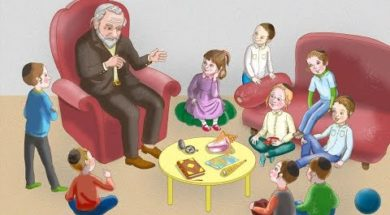 LIVE!! Rabbi YY Jacobson Farbrenging with Children: Stories, Riddles, Q & A