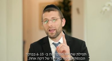 One Minute Late, Inspiration by R' Yoel Gold
