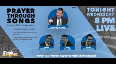 Prayer Through Songs – Rabbi Meyer Yedid