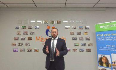 Rabbi Yoel Ferber- Story for kids at Misameach Live