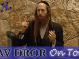 Satan's Secret and How to Beat Him Every – Time Rav Dror on Tour