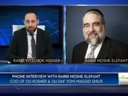 Shortage of Kosher Food?Rabb Moshe Elefant, COO of OU Kosher