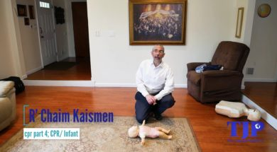 CPR Part 4; Infant CPR, R' Chaim Kaisman