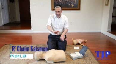CPR Part 6 , AED,R' Chaim Kaisman