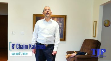 CPR With R' Chaim Kaisman- part 1 Introduction