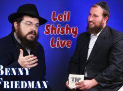 Benny Freidman Interview with Boruch Perlowitz