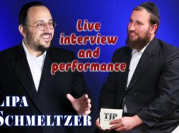 Lipa Schmetzler – LIVE PERFORMANCE and interview on The Jewish platform