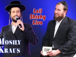 Moshe Kraus and Boruch perlowitz, Thursday night live