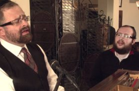 "Yossi Green and Shragee Gestetner A""H The Making of a New Song ""K'rachem Av"