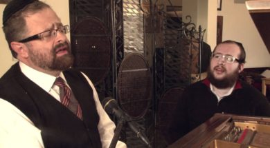 """Yossi Green and Shragee Gestetner A""""H The Making of a New Song """"K'rachem Av"""