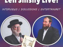 Leil Shishi with Boruch Perlowitz and Michoel Schnitzler